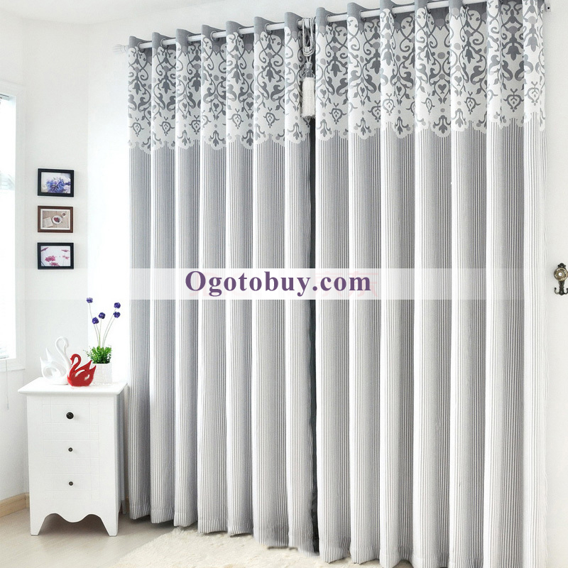 Room Darkening Soundproof Thermal Curtains  Loading zoom. Modern Luxury Room Darkening Soundproof Thermal Curtains  Buy Grey