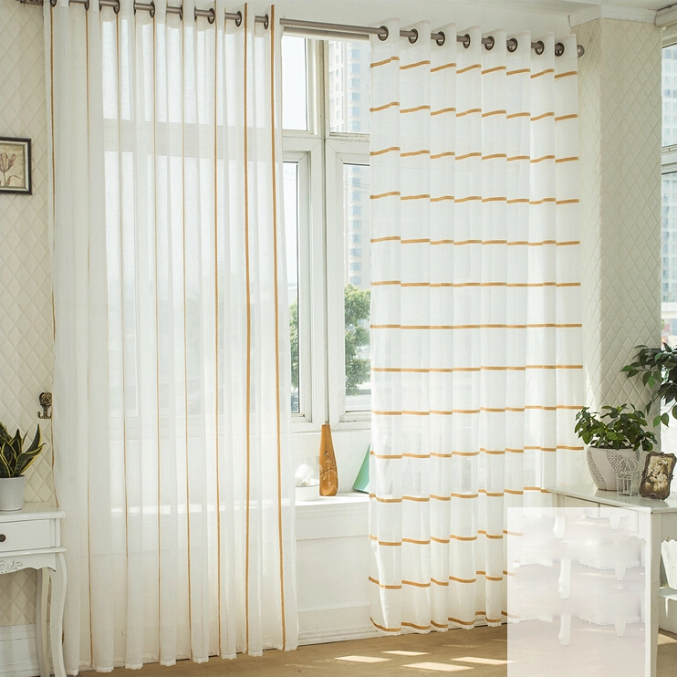 white sheer curtains loading zoom