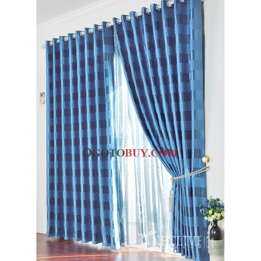 Blue Curtains For Boys Bedroom French Blue Curtain Panels
