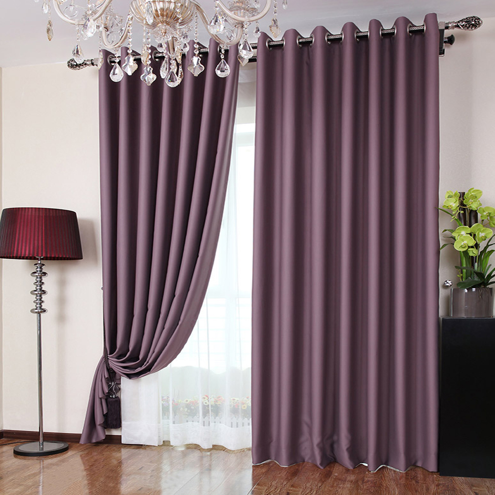 Purple Room Darkening Curtains Wine Colored Room Darkeni
