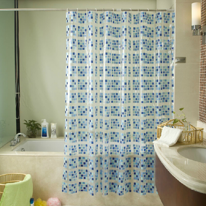 Curtains Ideas cheap curtains for sale : Promotion Sale Square Patterns Classy Shower Curtains, Buy Blue ...