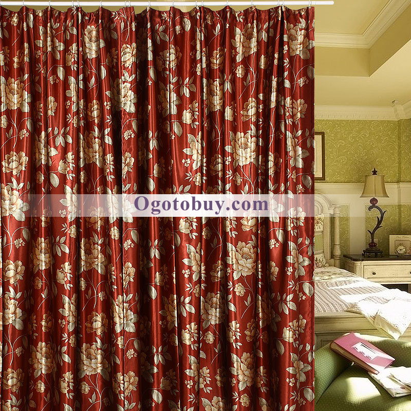 beautiful floral bedroom curtains gallery