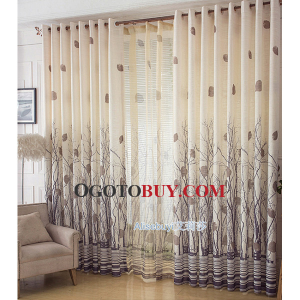 Superbe Patterned Beige Living Room Curtains. Loading Zoom Part 85 .
