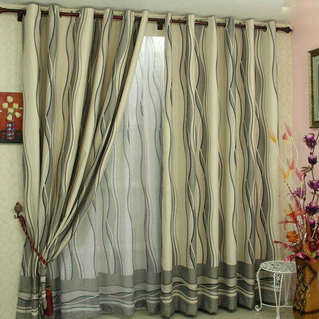 Living Room Curtains Made Of Poly And Fiber For Fancy Taste - Fancy Living Room Curtains : Hondurasliteraria.info