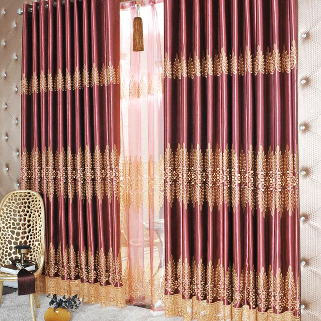 Special Prince Lace Polyester Blackout Heavy Curtains, Buy ...
