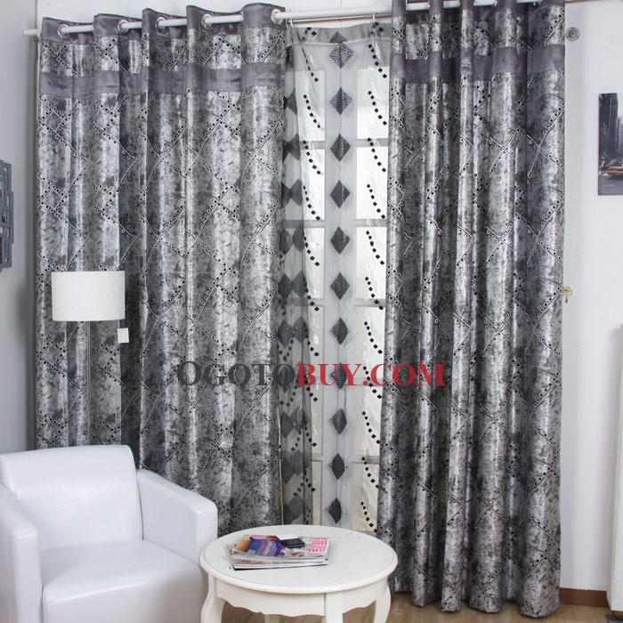 ... Polyester Blackout Thermal Curtains. Loading Zoom
