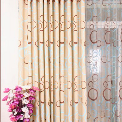 ... Simple Circles Living Room Cotton Curtains. Loading Zoom Part 64