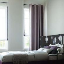2013 Chic Blackout Curtains Made of Polyester and Cotton (Two Panels)