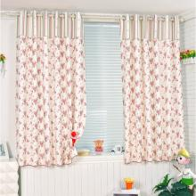 2013 Country Floral Printed Curtains Made of Blended Fabrics for Girls