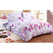 2013 New 4-piece Bed-in-a-bag with White Cotton Fabric