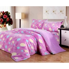4-piece Full/Twin/Queen/King Size Bed-in-a-bag with Sheet Set in Lilac