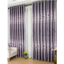 Amazing Grey Geometrical Printing Great Pattern Curtains