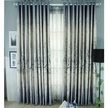 Beautiful Fall Taste Grey Energy Saving Curtains