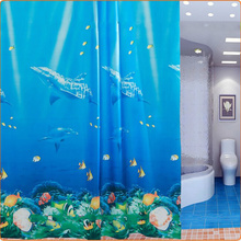 Beautiful Undersea Fish Ocean Shower Curtain