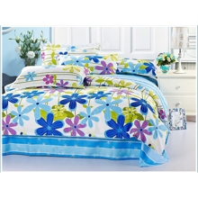 Blue Pastoral Feeling 4-piece Bed-in-a-bag