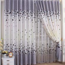 Multi-color Polka Dots Curtains Made of Polyester