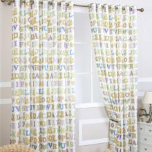 Character Printing Eco-friendly Cotton Children Room Curtains