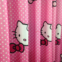 Children Animal Patterned Cute Organic Kids Pink Curtains