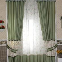 Country 2013 Floral Printing and Geometrical Printed Curtains