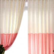 Country Multi-color Eco-friendly Curtains with Polka Dots
