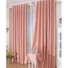 Cute Color Girls Room Blackout Printed Poly Curtains