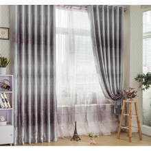 Discount Gray Blackout Blended Materials Colorful Curtains