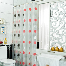 Eco-friendly Good Quality Circles Shower Curtains Cheap