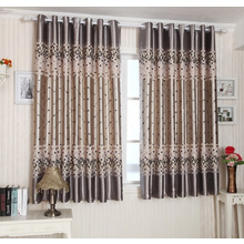 Geometric Printing Polyester and Cotton Short Panel Curtains