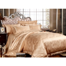 Gold Luxurious Tencel 4-piece Bed-in-a-bag with Sheet Set