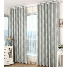 Gray Patterned Casual Half Price Floral Luxury curtains