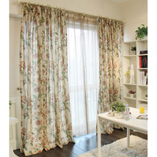 Insulated Brown Casual Costom Floral Where Can I Buy Curtains