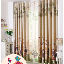 Kids Favorite Elephant and Giraffe Patterns Thermal Curtains