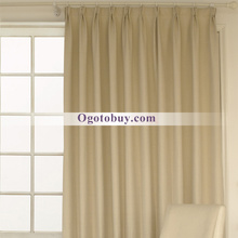 Modern Custom Blackout Classic Beige Curtains