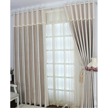 Modern Jacquard Pearl Pink Energy Saving Curtains