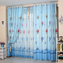 Nautical Beautiful Cheap Designer Blue Kids Boys curtains