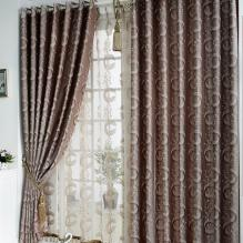 Polka Dots and Geometrical Printed Polyester Curtains