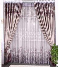 Polyester Blackout Lined Curtains with Printing Polka Dots