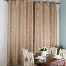 Polyester Curtains with Printed Flower for Blackout