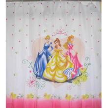 Princess Pattern Floral Girly Shower Curtains