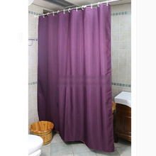 Purple Colored Shower Curtain for Bathroom Waterproof Feature