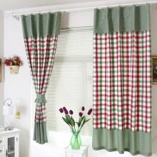 Scotland Feeling Country Blackout Cotton Plaid Curtains