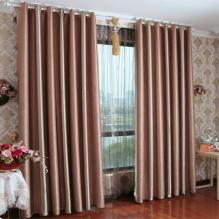 Special Energy Saving Blended Material Blackout Curtains