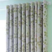 Spring Country Green Leaf Blackout Thermal Printing Curtains