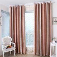 Striped Blackout and Thermal Hot Curtains