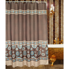 Timeless Coffee Waterproof Shower Curtain
