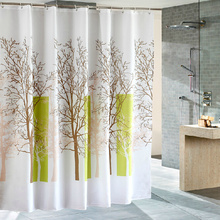 Tree Pattern Waterproof Best Shower Curtains