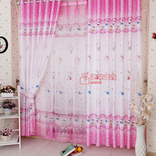 cute sweet beautiful girls room Kids Pink curtains