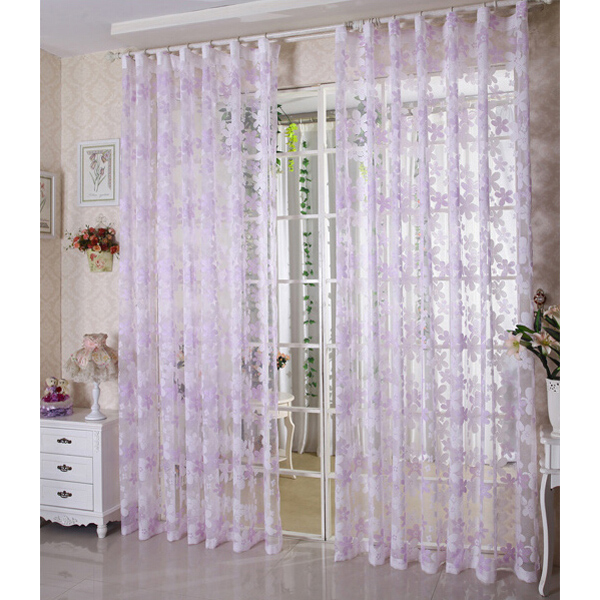 Loading Zoom. New Design Country Living Room Sheer Curtains ...