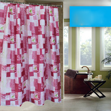 Pink Funky Shower Curtains of Rose Patterns