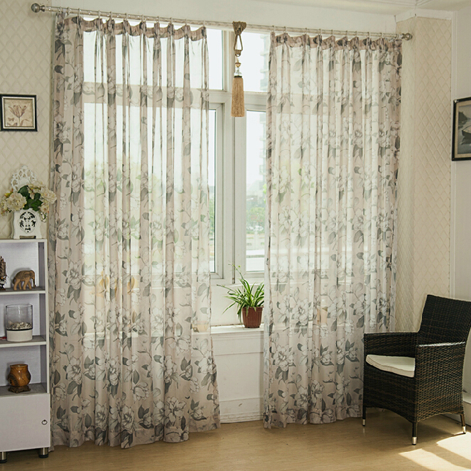 living room curtains cheap.  Cheap Floral Country Sheer Curtains for Living Room Loading zoom Buy Multi